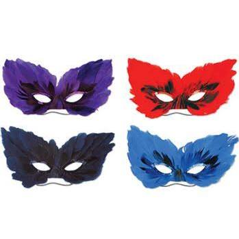 Feather Masks