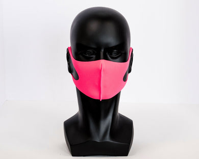 Solid Color Neoprene Breathable Antimicrobial Face Masks
