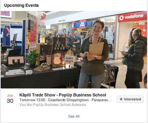 Trade Show Coastlands - Pop Up Business School Kapiti