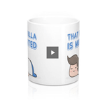 "Goofy Coffee Mug 11oz - ""That Fulla is munted"" - Kiwi Slang New Zealand Aotearoa"