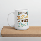 "Mug with Kiwi Slang "" I am going Bush! Naff OffMy Sight!"" - PawsFamilyLtd"