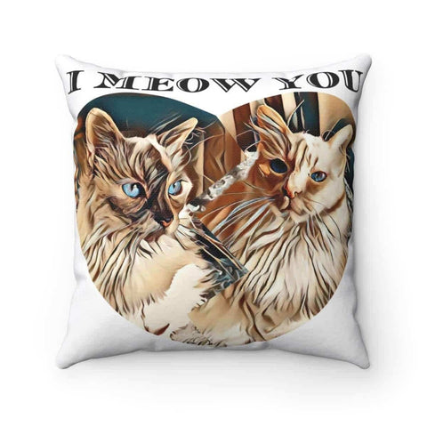 Spun Polyester Square Pillow Case - Amigo's Collection - Melissa's Collection