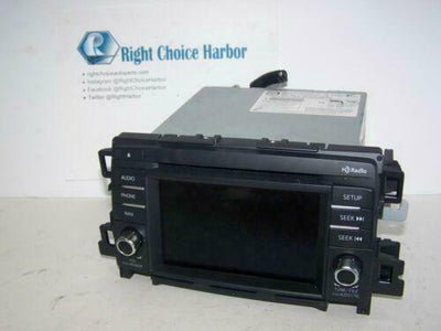 14-16 Mazda 6 GPS Navigation Display Radio CD Player GJS166DVOB OEM - rightchoiceautoparts