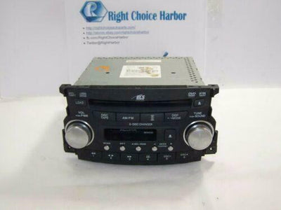 Acura TL AM FM Radio 6-Disc CD Player OEM - rightchoiceautoparts