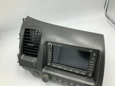 07-09 Honda Civic Navigation GPS Radio climate control system 39540-SNA-A010-M1 - rightchoiceautoparts