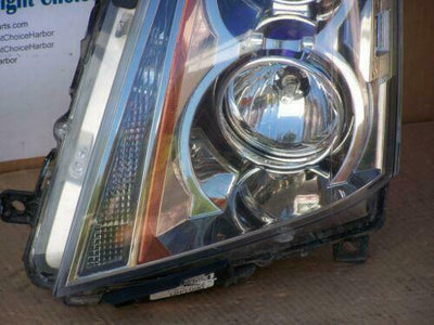 08-13 Cadillac CTS Headlight Left LH Driver