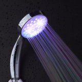 7 Colors 5 LED Lights Head Romantic Automatic Magic Handing Rainfall Shower