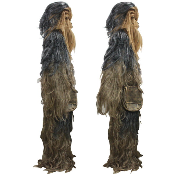 Star Wars Costumes 7 Series Cosplay Chewbacca Halloween Suit