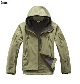 Waterproof Windproof Warm Coat Camouflage Hooded Camo Army Clothing for Men's