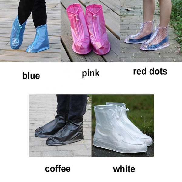 Waterproof Protector Shoes Boot Cover Anti-Slip Rain Shoes Cases for Unisex