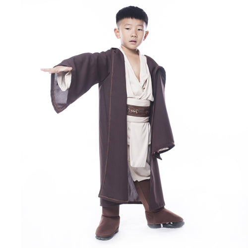 Star Wars Deluxe Jedi Warrior Movie Character Cosplay Party for Halloween Purim Carnival