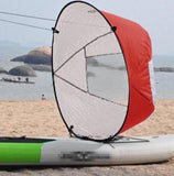 Kayak For Fishing Sailing Boat Accessories Marine Wind Sup Paddle Board Sail With Clear Window