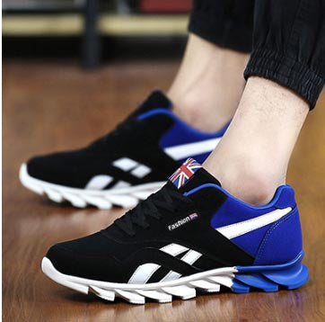 Mens Breathable Casual Flats Shoes for Spring Autumn Season