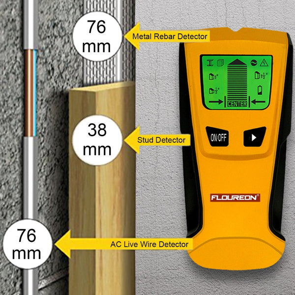 3 In 1 Metal Detectors Find Metal Wood Studs
