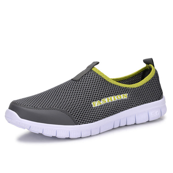 Casual Summer Lightweight Breathable Slip-on Flats Shoes for Men