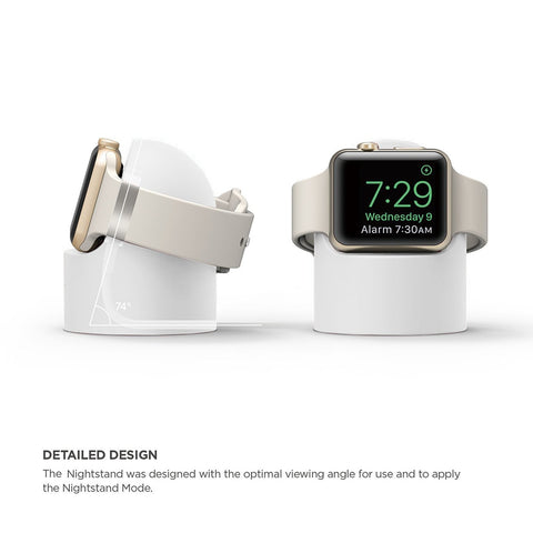 Silicone Apple Watch Night Stand for Versions 1-4
