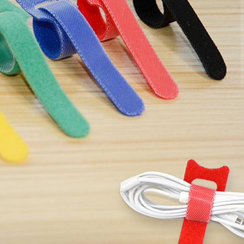50 pcs T-type Velcro Cable Tie