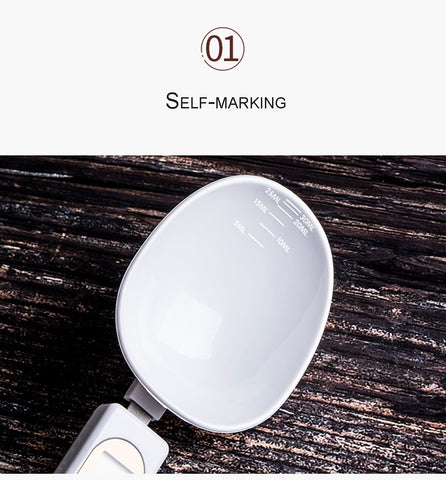 500g/0.1g LCD Display Digital Kitchen Measuring Spoon