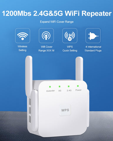 5 Ghz WiFi Repeater