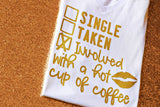 Involved With A Coffee V-Neck