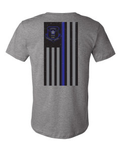 Thin Blue Line - Deep Heather Grey - Atlas Athletic