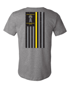 Thin Gold Line - Deep Heather Grey - Atlas Athletic