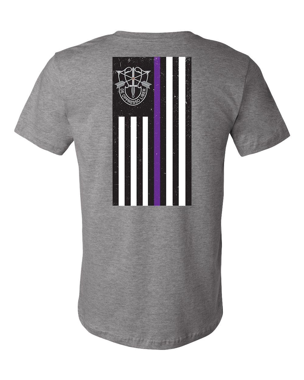 Thin Purple Line - Special Forces Edition - Deep Heather Grey - Atlas Athletic