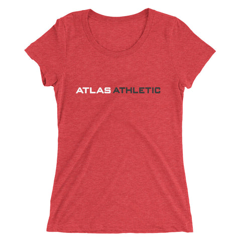 Classic Logo - Red - Atlas Athletic