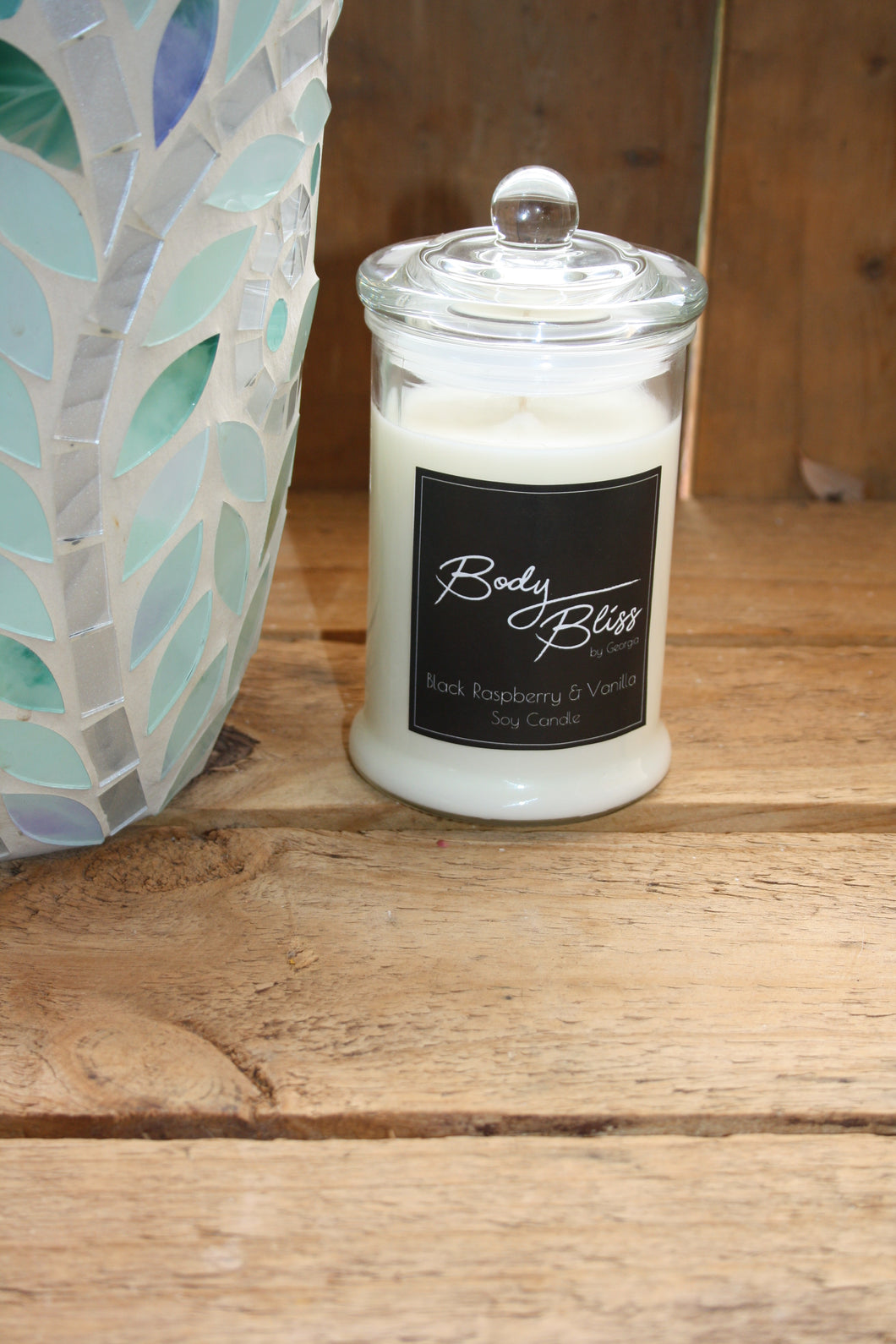 Black Raspberry & Vanilla Soy Candle