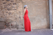 Full Length Red Ball Gown