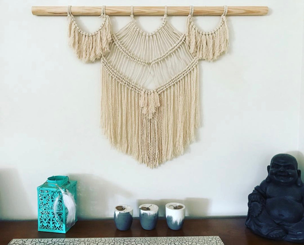 KODAH and CACTUS COCO Macrame Wall Hanging