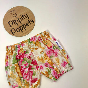 Girls Floral Bloomers