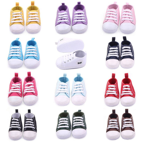 BabyG- Canvas Classic Baby Sneakers 1-18M