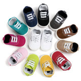 Baby- 100% Cotton Baby Sneakers 1-18M