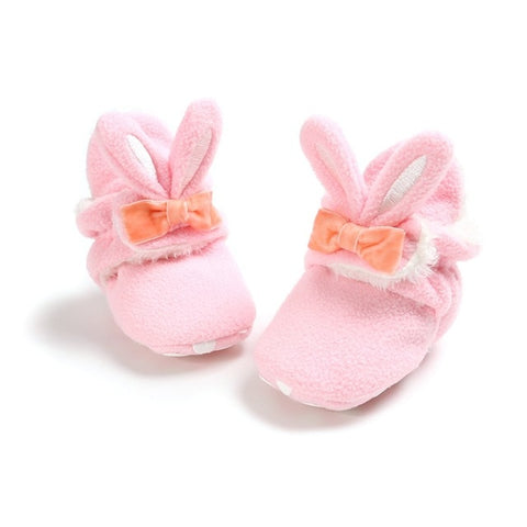 BBG- Super Cozy Baby Girl Booties 1-18M