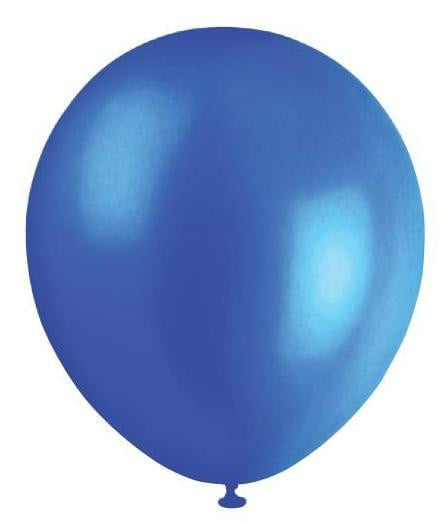 BALLOONS 30CM PEARL BLUE ‐20pcs-POPALOONPARTY
