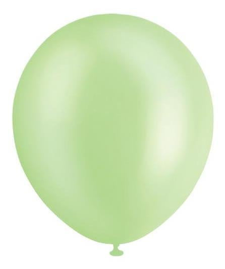 BALLOONS 30CM PEARL TEAL ‐20pcs-POPALOONPARTY