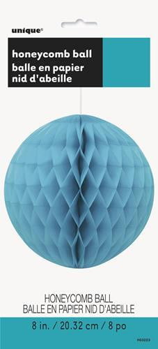 Honey Comb Ball-Teal-POPALOONPARTY