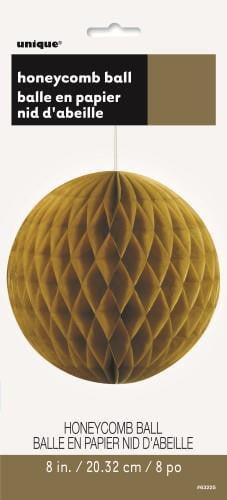 Honey Comb Ball-Gold-POPALOONPARTY