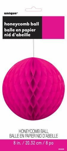 Honey Comb Ball-Neon Pink-POPALOONPARTY