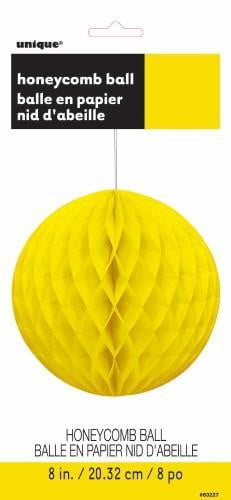Honey Comb Ball-Neon Yellow-POPALOONPARTY