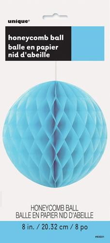 Honey Comb Ball-Power Blue-POPALOONPARTY