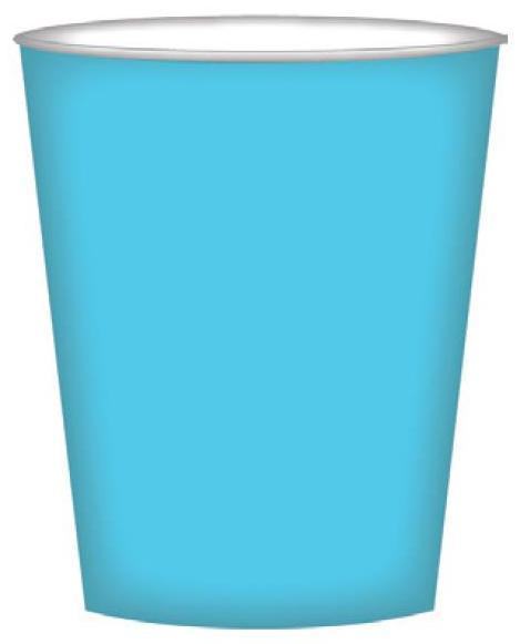 PARTY CUPS ISLAND BLUE