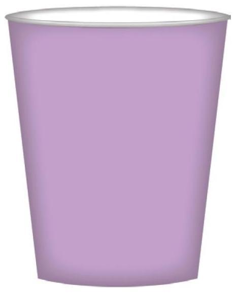 PARTY CUPS LILAC