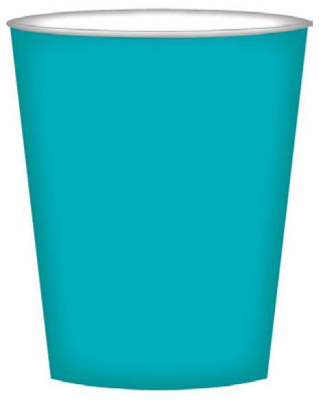 PARTY CUPS OCEAN TURQUOISE