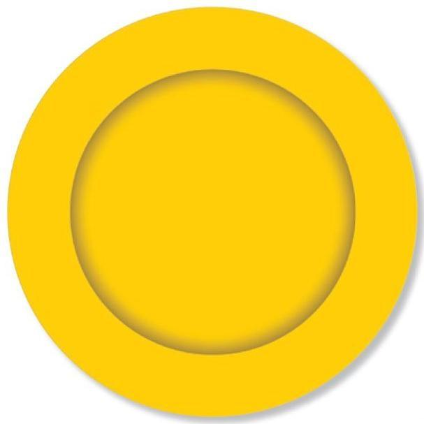 PARTY PLATES SMALL YELLOW