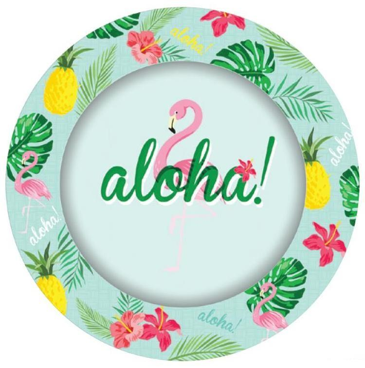 PARTY PLATES TROPICAL