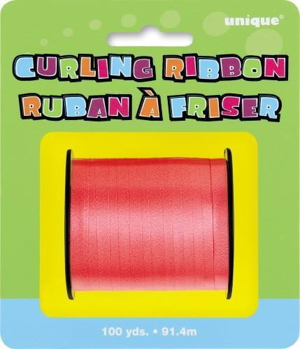 Curling Ribbon-Red-POPALOONPARTY