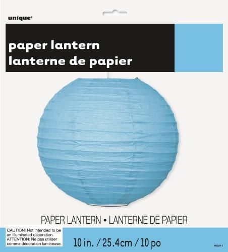 Round Paper Lantern-Power Blue-POPALOONPARTY