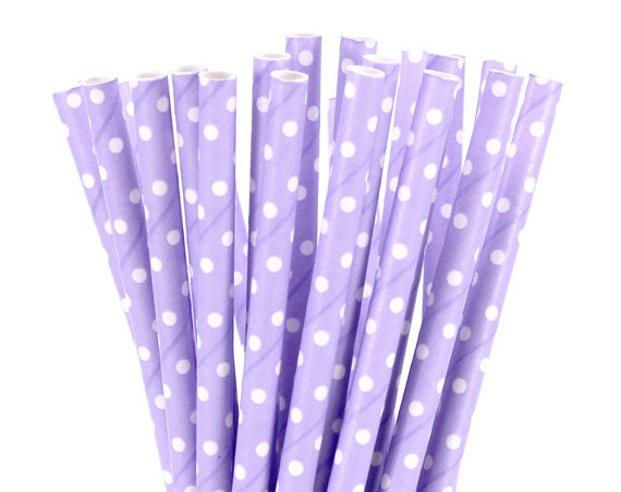 White Dot Light Purple-POPALOONPARTY